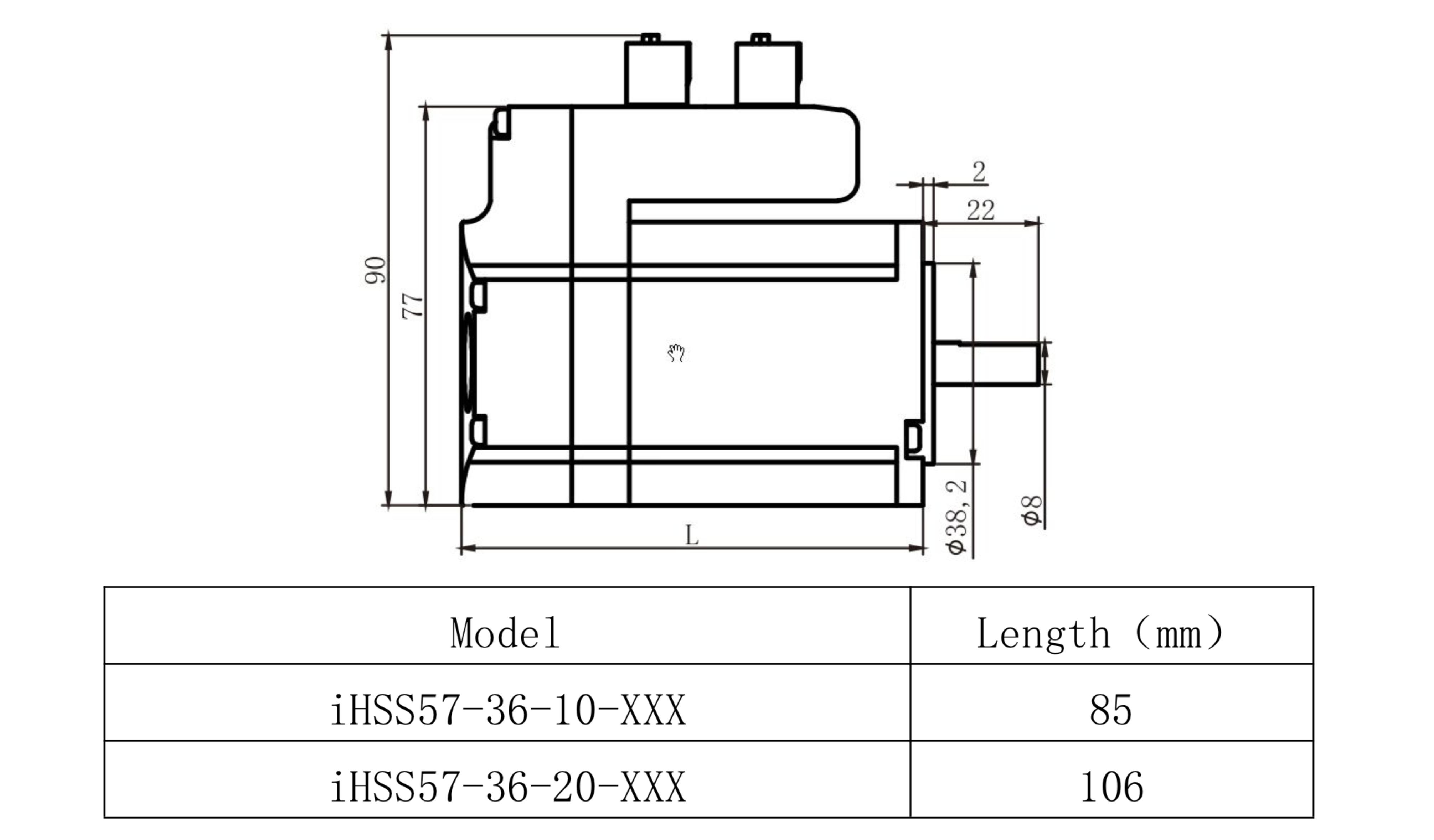 Sorotec Jmc Closed Loop Stepper 2nm Incl Driver Motor Circuit Diagram Integrated Ihss57 36 20