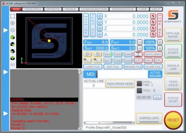 Sorotec - UCCNC Control software